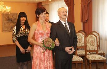 Oldřich Navrátil a partnerka Monika (2011)