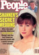 Shannen Doherty a Ashle Hamilton (1993)