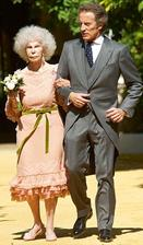 Vévodkyně z Alby-Cayetana Fitz-James Stuart a Alfons Díez Carabantes (2011)