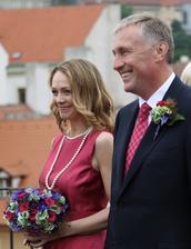 Mirek Topolánek a Lucie Talmanová (2010)