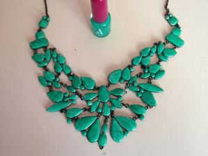 Když náhrdelník nemá barvu, jakou potřebujete :)