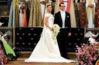 Švédská princezna Victorie a Daniel Westling (2010)