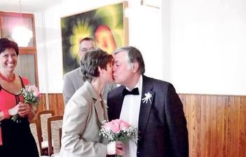 Vlastimil Zavřel a Judita Härtelová (2012)