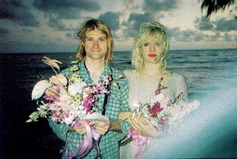 Kurt Cobain a Courtney Love (1992)
