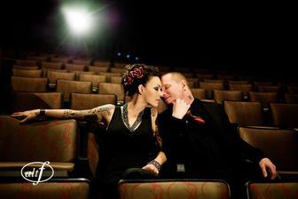 Corey Taylor (Slipknot) & Stephanie Luby (2009)
