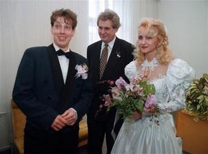 Stanislav Gross a Šárka Bobysudová (1996)