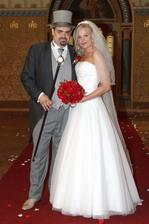 Pavel Novotný a jeho přítelkyně Veronika (2013)