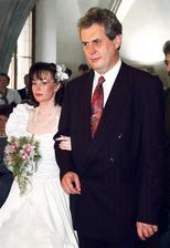 Miloš Zeman a Ivana Bednarčíková (1993)