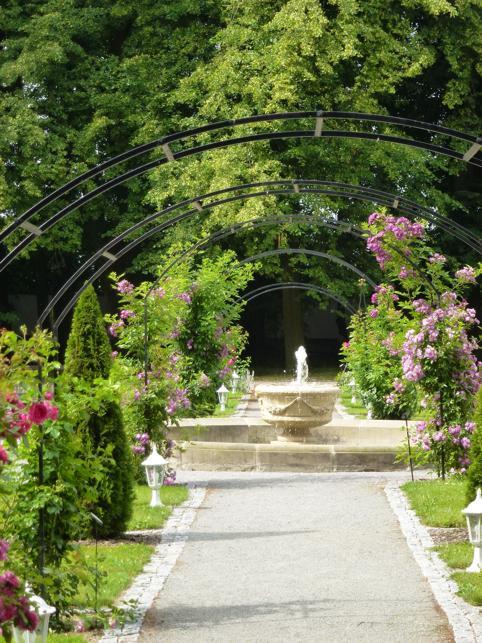Místa pro svatbu - Zámek Jemniště - rosarium