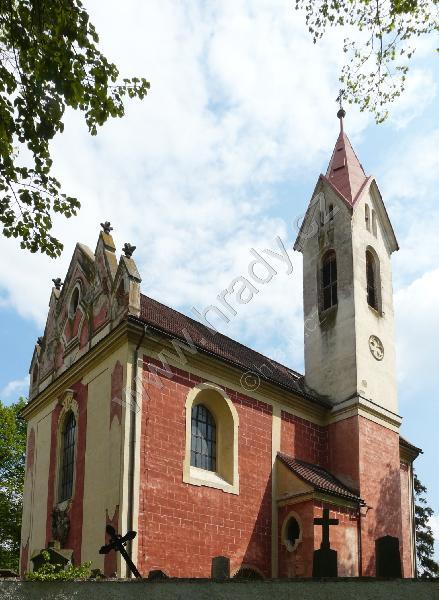 Místa pro svatbu - Poříčí nad Sázavou - kostel sv. Havla