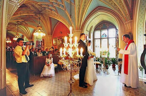 Místa pro svatbu - Zámek Konopiště