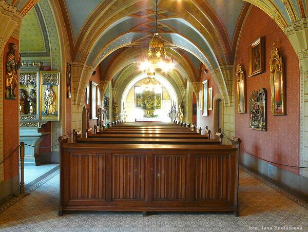 Místa pro svatbu - Konopiště - kaple sv. Huberta