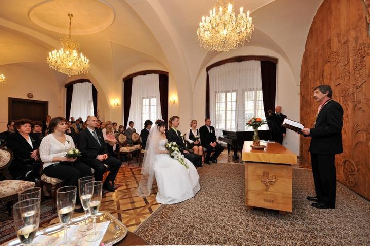 Místa pro svatbu - Zámek Vlašim