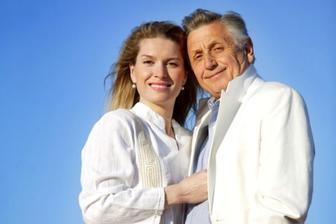 Jiří Menzel a Olga Kelymanová (2004)