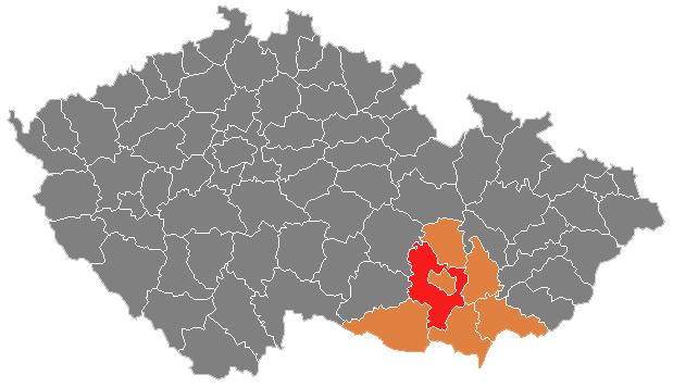 Místa pro svatbu - Okres Brno