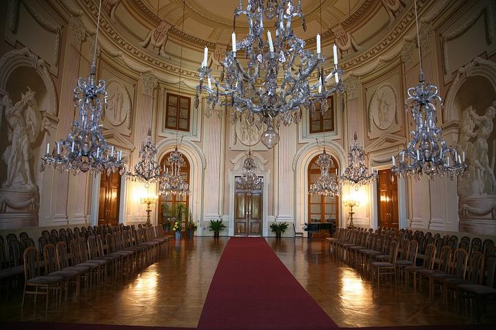 Místa pro svatbu - Slavkov u Brna - historický sál