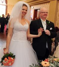Radek Kuchař(Perníková věž) a jeho přítelkyně Bára (2010)