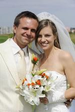 Petr Svěcený a jeho manželka Kristýna (2011)