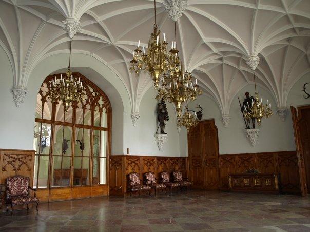 Místa pro svatbu - Zámek Lednice - Rytířský sál