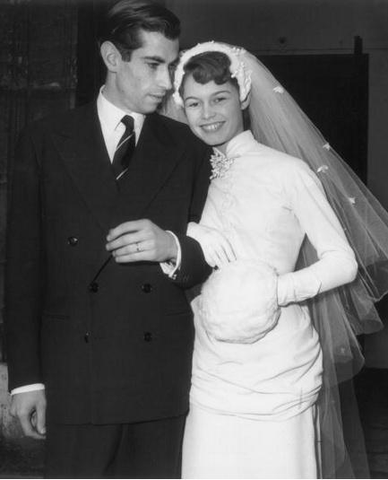 Svatby celebrit - Briggite Bardot a Roger Vadim (1952)