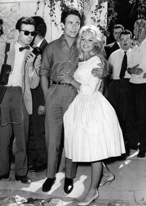 Svatby celebrit - Brigitte Bardot a Jacques Charrier (1959)