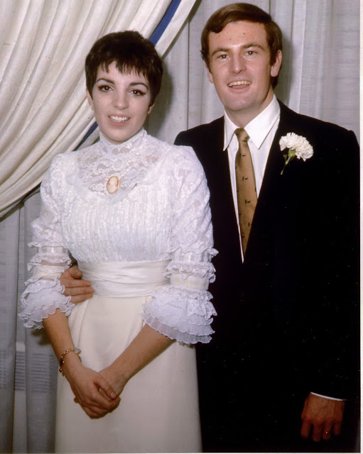 Svatby celebrit - Liza Minnelli a Peter Allen (1967)