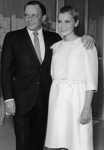 Svatby celebrit - Fran Sinatra a Mia Farrow (1966)