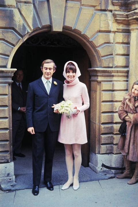 Svatby celebrit - Audrey Hepburn a Andrea Dotti (1969)