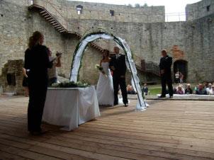 Místa pro svatbu - Hukvaldy