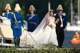 Švédská princezna Madeleine a Christopher O'Neill (2013)
