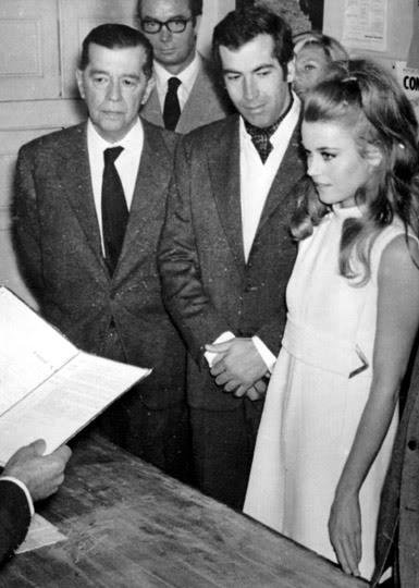 Svatby celebrit - Jane Fonda a Roger Vadim (1965)