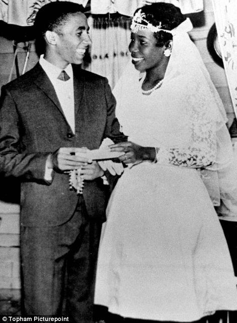 Svatby celebrit - Bob Marley a Rita Anderson (1966)
