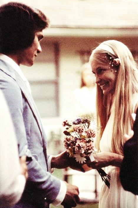 Svatby celebrit - Patrick Swayze a Lisa Niemi (1975)