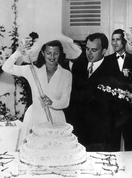 Svatby celebrit - Rita Hayworth a Ali Khan (1949)