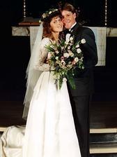 Steve Irwin ( Lovec krokodýlů) a Terri Raines (1992)