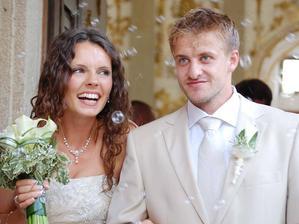 Jan Marek a Lucie Vejslíková (2008)