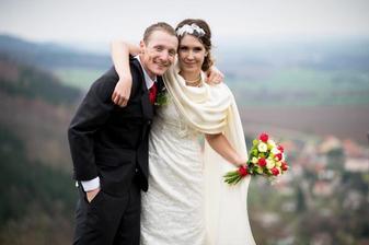 Ondřej Moravec a jeho přítelkyně Veronika (2013)