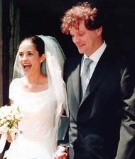 Colin Firth a Livia Giugiolli (1997)