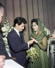 Elizabeth Taylor a Eddie Fisher (1959)