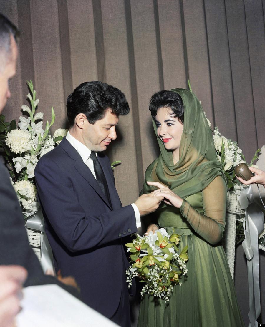 Svatby celebrit - Elizabeth Taylor a Eddie Fisher (1959)