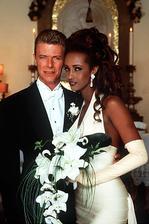 David Bowie a Iman (1992)