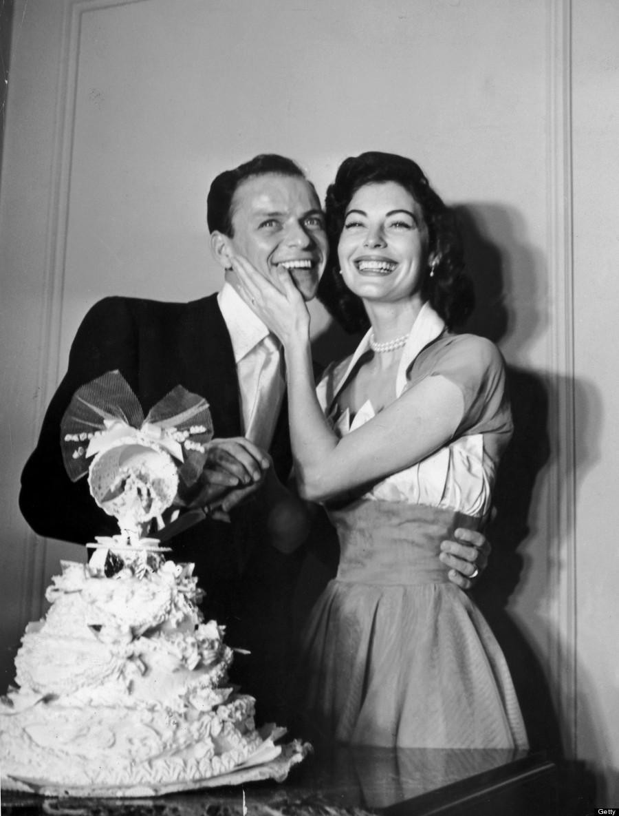 Svatby celebrit - Frank Sinatra a Ava Gardner (1951)