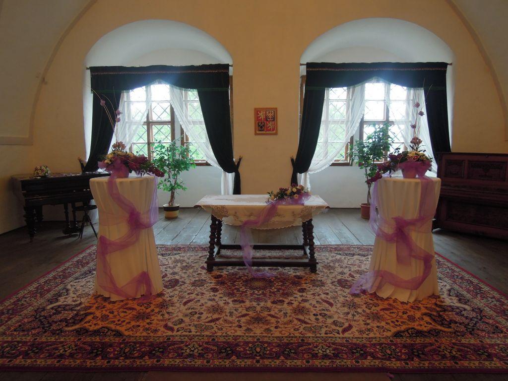 Místa pro svatbu 2 - Zámek Náchod