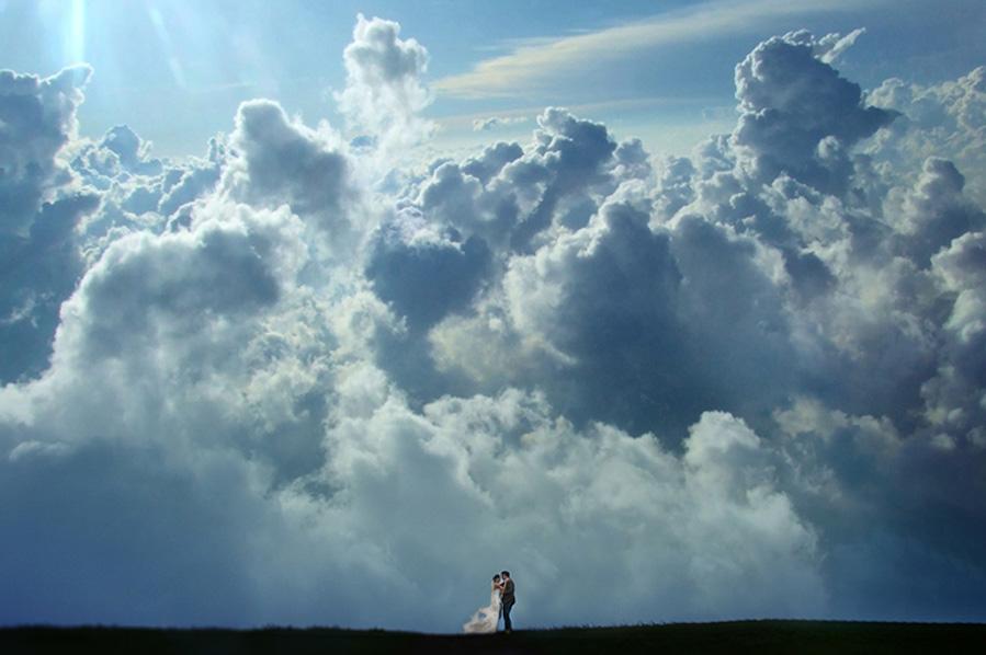 Foto - ženich a nevěsta - Obrázek č. 339