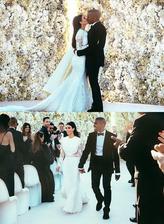 Kim Kardashian a Kanye West (2014)