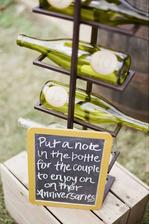 Poznámka na vína, která si otevřou při jejich výročí