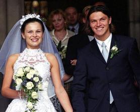 Tomáš Ujfaluši a jeho manželka Kateřina (1999)