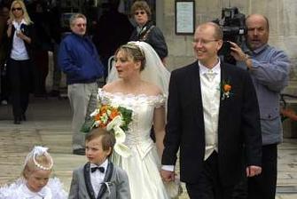 Bohuslav Sobotka a Olga Pekárková (2003)