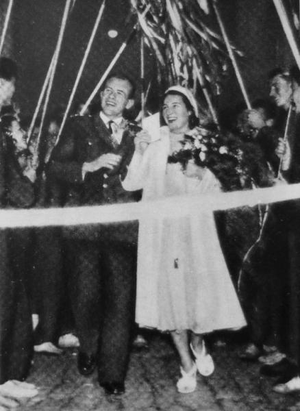 Svatby celebrit - Zátopkovi (1952)
