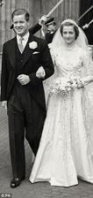 Rodiče princezny Diany - John Spencer a Frances Shand Kydd (1954)